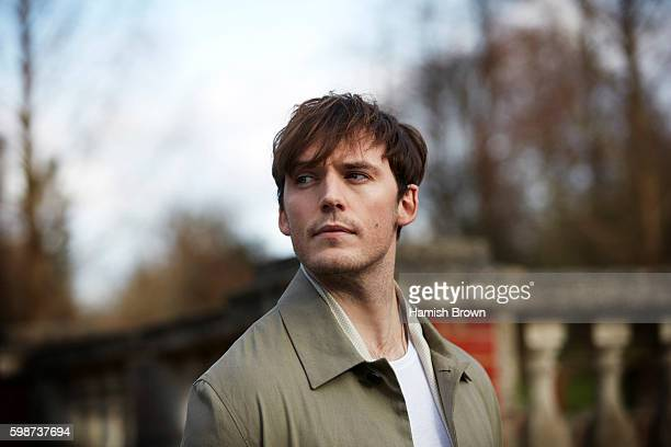 Actor Sam Claflin is photographed for Red magazine on February 9 2016 in London England