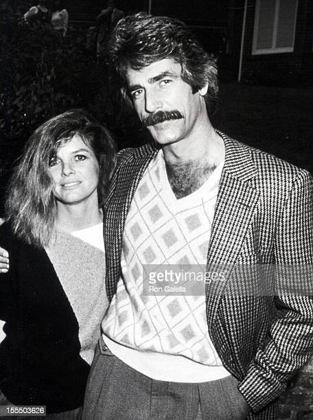 Actor Sam Elliott and actress Katharine Ross attending Celebration Signing of California Bilateral Nuclear Weapons Freeze Initiative on January 10...
