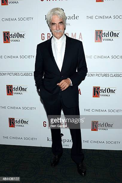 Actor Sam Elliott attends The Cinema Society and Kate Spade host a Screening of Sony Pictures Classics' 'Grandma' at Landmark Sunshine Cinema on...