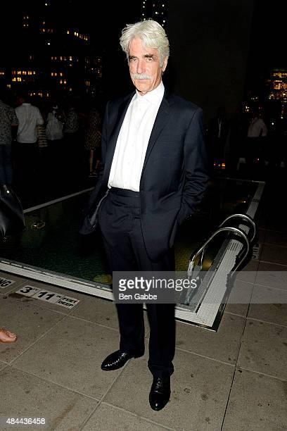 Actor Sam Elliott attends The Cinema Society Kate Spade and Ketel One Vodka host a Screening of Sony Pictures Classics' 'Grandma' at The Jimmy at the...