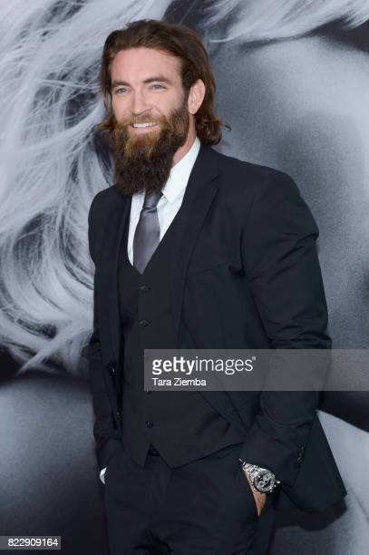 Actor Sam Hargrave attends Focus Features' 'Atomic Blonde' at The Theatre at Ace Hotel on July 24 2017 in Los Angeles California