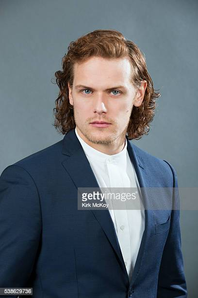 Actor Sam Heughan of STARZ's 'Outlander' is photographed for Los Angeles Times on March 26 2016 in Los Angeles California PUBLISHED IMAGE CREDIT MUST...