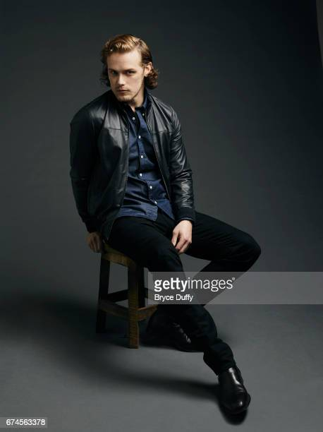 Actor Sam Heughan photographed for Variety on April 12 in Los Angeles California