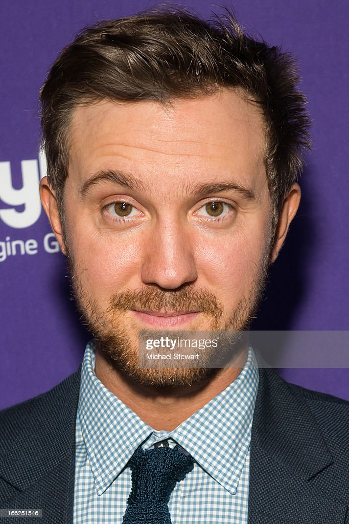 Actor <a gi-track='captionPersonalityLinkClicked' href=/galleries/search?phrase=Sam+Huntington&family=editorial&specificpeople=546776 ng-click='$event.stopPropagation()'>Sam Huntington</a> attends the 2013 Syfy Upfront at Silver Screen Studios at Chelsea Piers on April 10, 2013 in New York City.