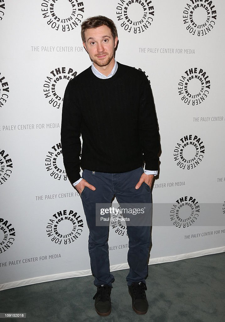 Actor <a gi-track='captionPersonalityLinkClicked' href=/galleries/search?phrase=Sam+Huntington&family=editorial&specificpeople=546776 ng-click='$event.stopPropagation()'>Sam Huntington</a> attends the premiere screening and panel discussion of Syfy's 'Being Human' season 3 at The Paley Center for Media on January 8, 2013 in Beverly Hills, California.