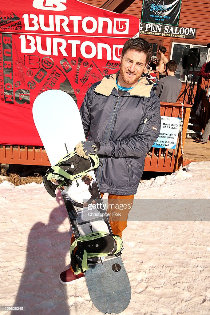 Actor Sam Jaeger attends Burton Learn To Ride - Day 2 on January 20, 2013 in Park City, Utah.