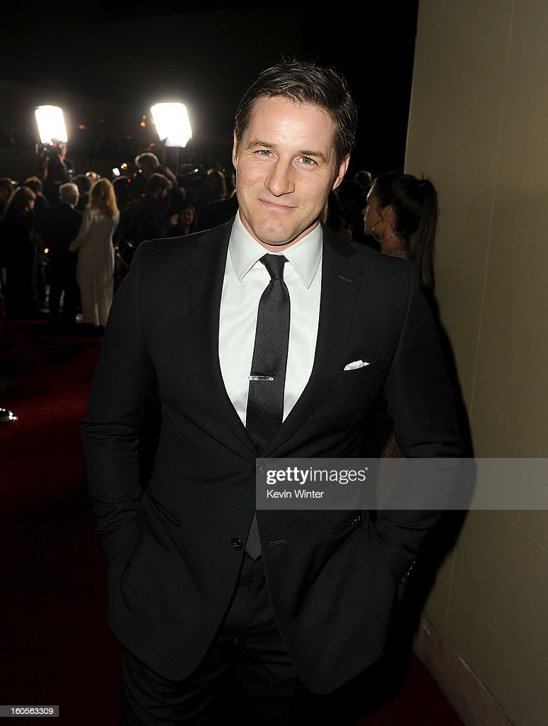 Actor Sam Jaeger attends the 65th Annual Directors Guild Of America Awards at Ray Dolby Ballroom at Hollywood & Highland on February 2, 2013 in Los Angeles, California.