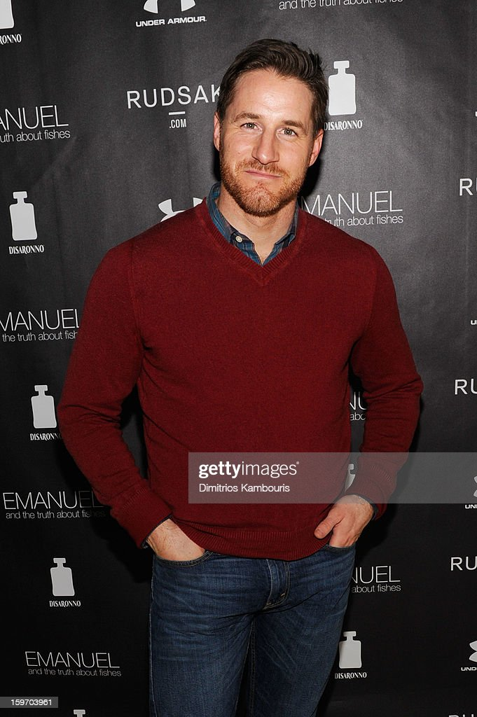 Actor Sam Jaeger attends The Next Generation Filmmaker Dinner Series Presents 'Emanuel And The Truth About Fishes' on January 18, 2013 in Park City, Utah.
