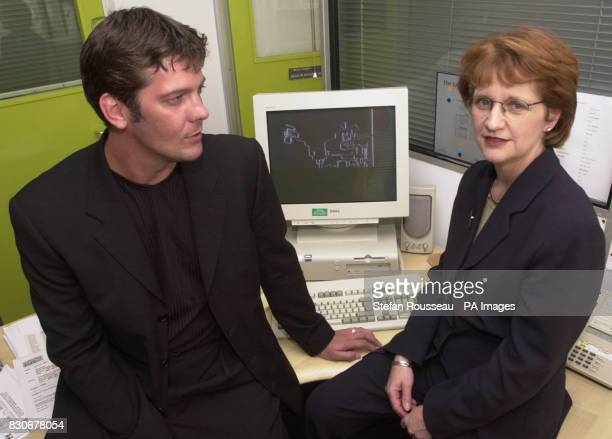 Actor Sam Kane and Home Office Minister Beverley Hughes teaming up to support the Government's Internet Child Protection Task Force as Sam is about...