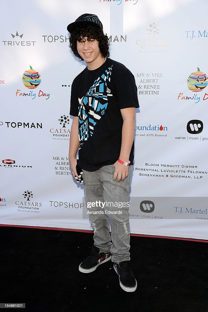 Actor Sam Lant arrives at the TJ Martell Foundation 4th Annual Family Day LA at CBS Studios - Radford on October 28, 2012 in Studio City, California.