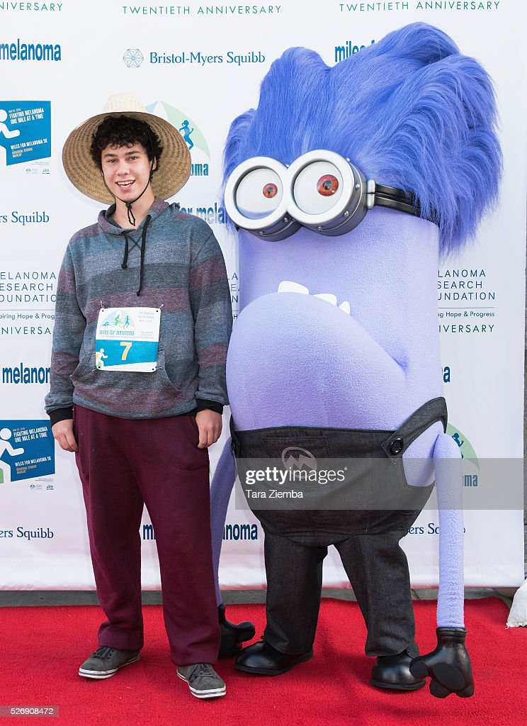 Actor Sam Lant attends the Melanoma Research Foundation's Miles for Melanoma 5k Run/Walk at Universal Studios Backlot on May 1, 2016 in Universal City, California.