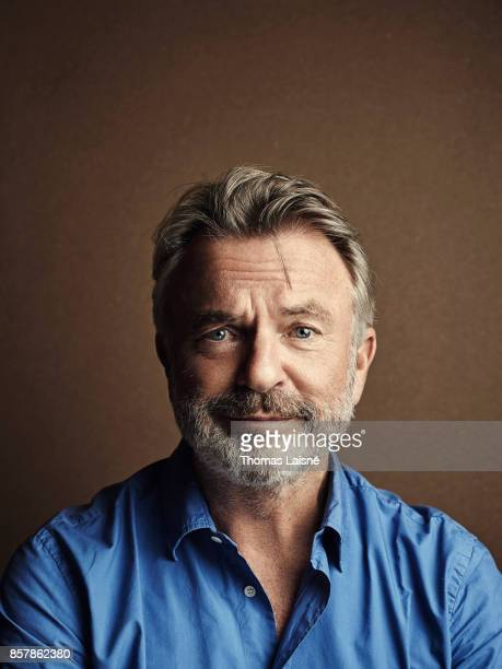 Actor Sam Neill is photographed for Self Assignment on September 7 2017 in Venice Italy
