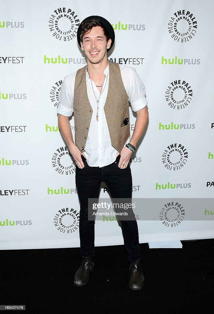 Actor Sam Palladio arrives at the 30th Annual PaleyFest: The William S. Paley Television Festival featuring 'Nashville' at the Saban Theatre on March 9, 2013 in Beverly Hills, California.