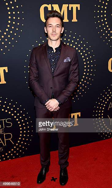 Actor Sam Palladio attends the 2015 'CMT Artists of the Year' at Schermerhorn Symphony Center on December 2 2015 in Nashville Tennessee