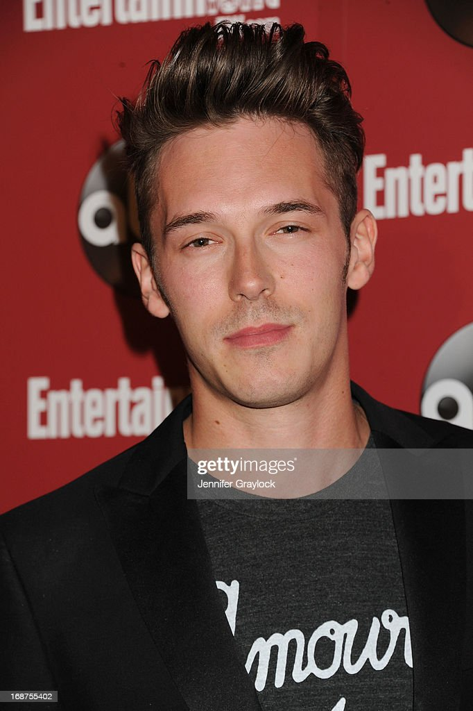 Actor <a gi-track='captionPersonalityLinkClicked' href=/galleries/search?phrase=Sam+Palladio&family=editorial&specificpeople=9149279 ng-click='$event.stopPropagation()'>Sam Palladio</a> attends the Entertainment Weekly & ABC 2013 New York Upfront Party at The General on May 14, 2013 in New York City.