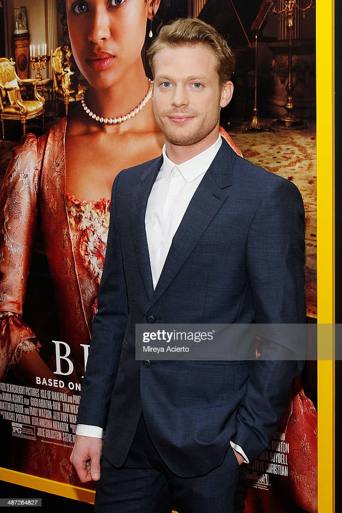 Actor Sam Reid attends the 'Belle' premiere at The Paris Theatre on April 28, 2014 in New York City.