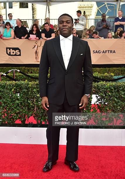 Actor Sam Richardson arrives for the 23rd Annual Screen Actors Guild Awards at the Shrine Exposition Center on January 29 in Los Angeles California /...