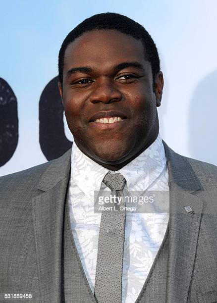 Actor Sam Richardson arrives for the Premiere Of Universal Pictures' 'Neighbors 2 Sorority Rising' held at Regency Village Theatre on May 16 2016 in...