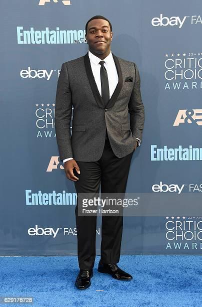 Actor Sam Richardson attends The 22nd Annual Critics' Choice Awards at Barker Hangar on December 11 2016 in Santa Monica California