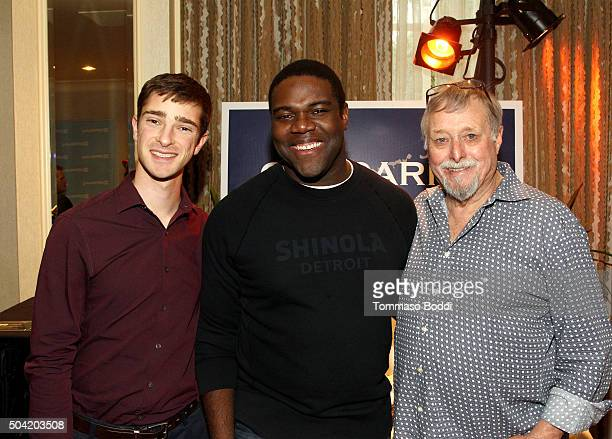 Actor Sam Richardson attends the HBO Luxury Lounge at the Four Seasons Hotel Los Angeles at Beverly Hills on January 9 2016 in Los Angeles California