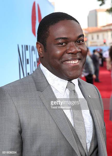 Actor Sam Richardson attends the premiere of Universal Pictures' 'Neighbors 2 Sorority Rising' at the Regency Village Theatre on May 16 2016 in...