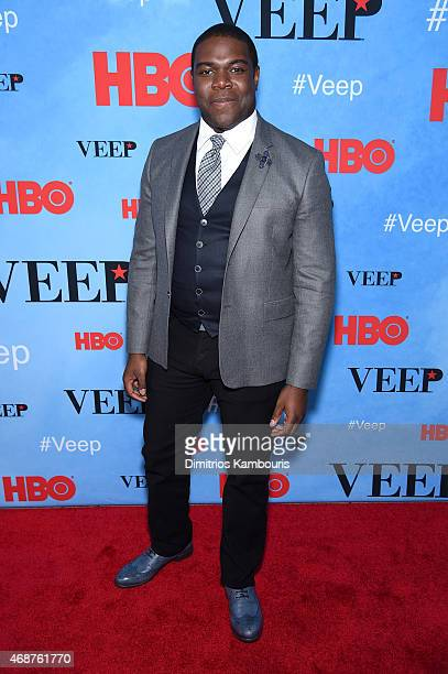Actor Sam Richardson attends the 'VEEP' Season 4 New York Screening at the SVA Theater on April 6 2015 in New York City