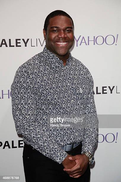 Actor Sam Richardson poses during The Paley Center For Media Hosts An Evening With The Cast Of 'VEEP' at Paley Center For Media on April 7 2015 in...