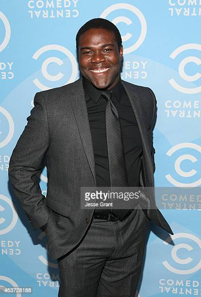 Actor Sam Richrdson attends the Comedy Central Creative Arts Emmy Party at Boulevard 3 on August 16 2014 in Hollywood California