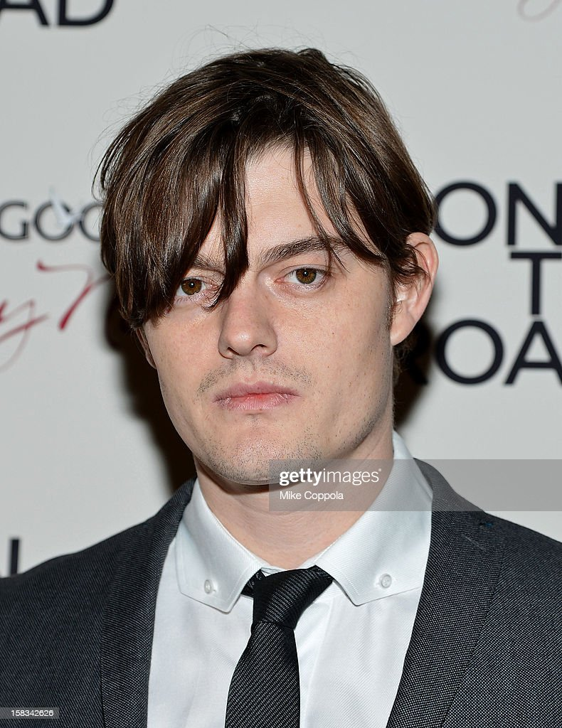 Actor Sam Riley attends 'On The Road' New York Premiere at SVA Theater on December 13, 2012 in New York City.