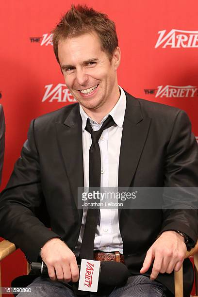Actor Sam Rockwell at Variety Studio presented by Moroccanoil on Day 1 at Holt Renfrew Toronto during the 2012 Toronto International Film Festival on...