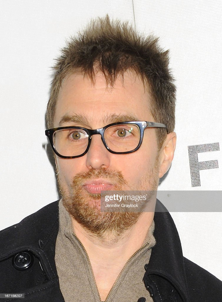 Actor Sam Rockwell attends the 'A Case Of You' World Premiere - 2013 Tribeca Film Festival at BMCC Tribeca PAC on April 21, 2013 in New York City.