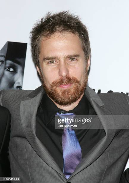 Actor Sam Rockwell attends 'The Mountaintop' Broadway opening night at The Bernard B Jacobs Theatre on October 13 2011 in New York City