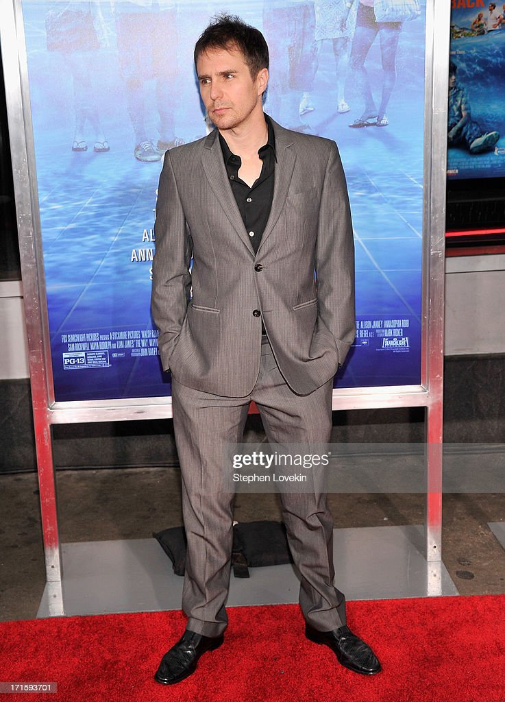 Actor <a gi-track='captionPersonalityLinkClicked' href=/galleries/search?phrase=Sam+Rockwell&family=editorial&specificpeople=213214 ng-click='$event.stopPropagation()'>Sam Rockwell</a> attends 'The Way, Way Back ' New York Premiere at AMC Loews Lincoln Square on June 26, 2013 in New York City.