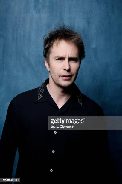 Actor Sam Rockwell from the film 'Three Billboards Outside Ebbing Missouri' poses for a portrait at the 2017 Toronto International Film Festival for...