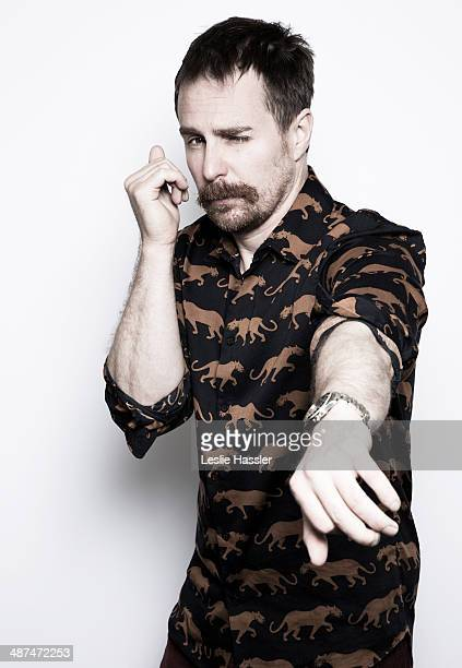 Actor Sam Rockwell is photographed at the Tribeca Film Festival on April 21 2014 in New York City