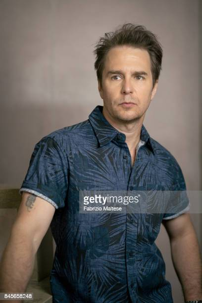 Actor Sam Rockwell is photographed on September 4 2017 in Venice Italy