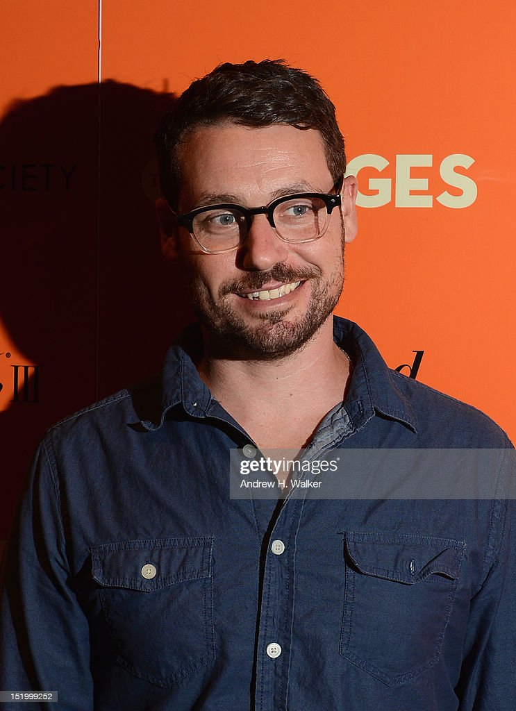 Actor Sam Rosen attends The Cinema Society with The Hollywood Reporter & Samsung Galaxy S III host a screening of 'The Oranges' at Tribeca Screening Room on September 14, 2012 in New York City.