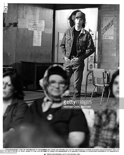Actor Sam Shepard on set of the Universal Studio movie 'Resurrection' in 1980