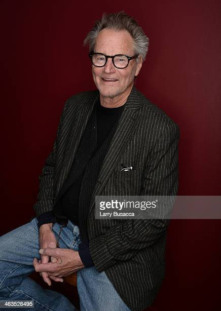 Actor Sam Shepard poses for a portrait during the 2014 Sundance Film Festival at the Getty Images Portrait Studio at the Village At The Lift...