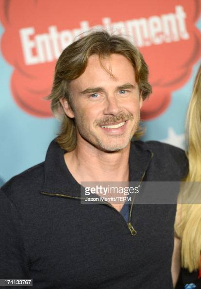 Actor Sam Trammell attends Entertainment Weekly's Annual ComicCon Celebration at Float at Hard Rock Hotel San Diego on July 20 2013 in San Diego...
