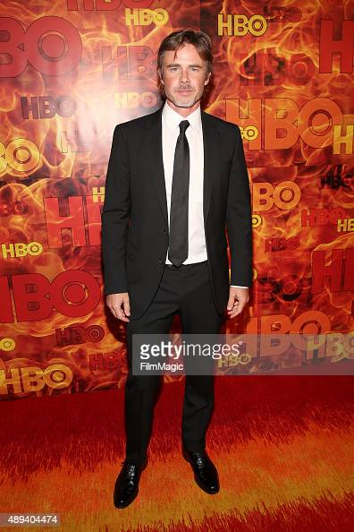 Actor Sam Trammell attends HBO's Official 2015 Emmy After Party at The Plaza at the Pacific Design Center on September 20 2015 in Los Angeles...