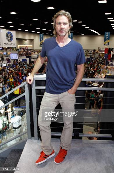 Actor Sam Trammell attends HBO's 'True Blood' Cast Autograph Signing at San Diego Convention Center on July 20 2013 in San Diego California