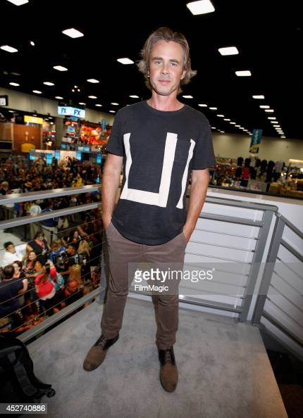 Actor Sam Trammell attends HBO's 'True Blood' cast autograph signing during ComicCon 2014 on July 26 2014 in San Diego California