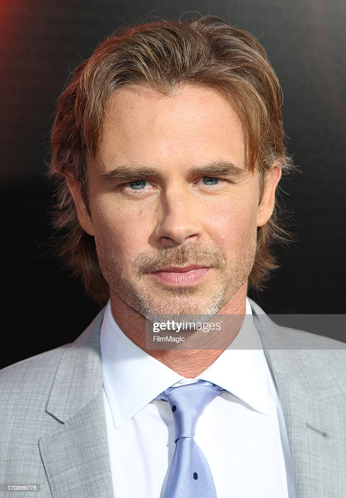 Actor Sam Trammell attends HBO's 'True Blood' season 6 premiere at ArcLight Cinemas Cinerama Dome on June 11, 2013 in Hollywood, California.