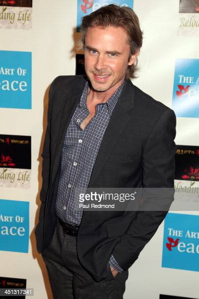 Actor Sam Trammell attends Reloading Life The Art Of Peace Anti Gun Violence Event at SupperClub Los Angeles on November 21 2013 in Los Angeles...