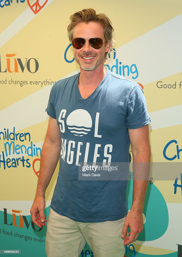 Actor Sam Trammell attends the Children Mending Hearts 6th Annual Fundraiser 'Empathy Rocks: A Spring Into Summer Bash' at a private residence on June 14, 2014 in Beverly Hills, California.