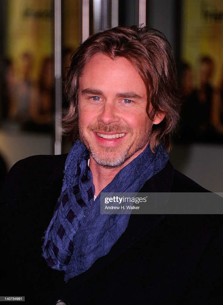 Actor <a gi-track='captionPersonalityLinkClicked' href=/galleries/search?phrase=Sam+Trammell&family=editorial&specificpeople=3205930 ng-click='$event.stopPropagation()'>Sam Trammell</a> attends the Cinema Society & People StyleWatch with Grey Goose screening of 'Friends With Kids' at the SVA Theater on March 5, 2012 in New York City.