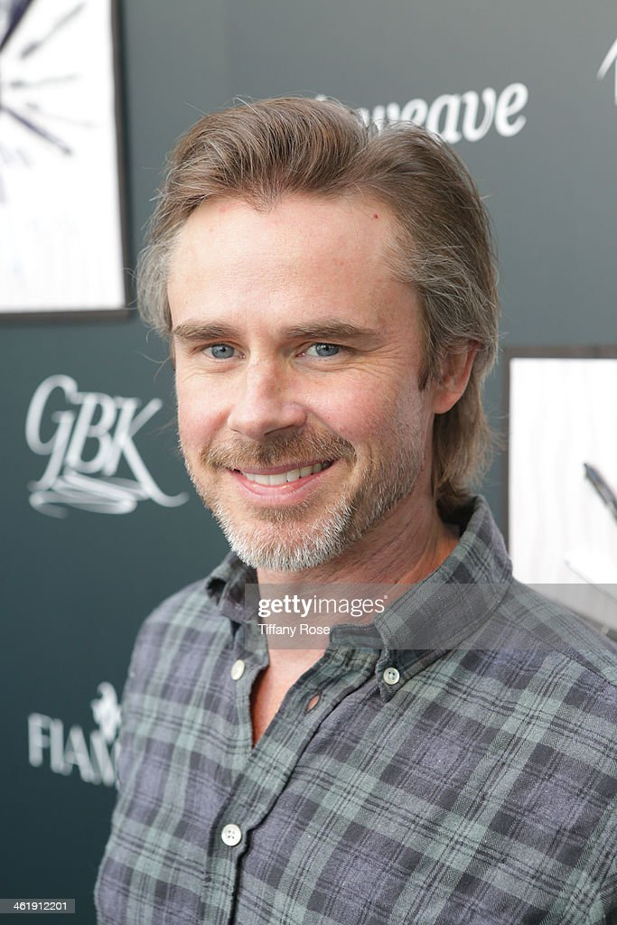 Actor Sam Trammell attends the GBK & Pilot Pen Pre-Golden Globe Gift Lounge on January 11, 2014 in Beverly Hills, California.