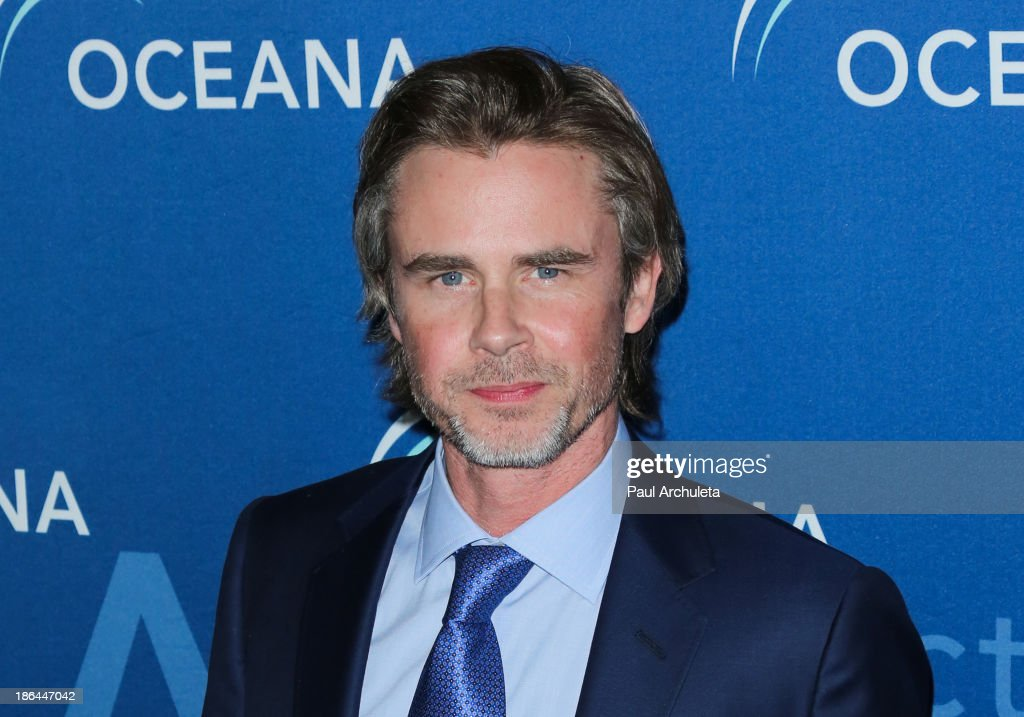 Actor <a gi-track='captionPersonalityLinkClicked' href=/galleries/search?phrase=Sam+Trammell&family=editorial&specificpeople=3205930 ng-click='$event.stopPropagation()'>Sam Trammell</a> attends the Oceana Partners Award Gala at the Regent Beverly Wilshire Hotel on October 30, 2013 in Beverly Hills, California.