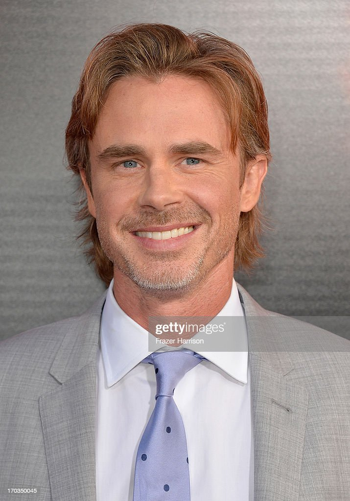 Actor Sam Trammell attends the premiere of HBO's 'True Blood' Season 6 at ArcLight Cinemas Cinerama Dome on June 11, 2013 in Hollywood, California.